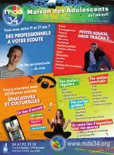 Flyer MDA pour les adolescents