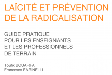 """Guide pratique pour les enseignants et les professionnels de terrain """"Laïcité et prévention de la radicalisation"""""""